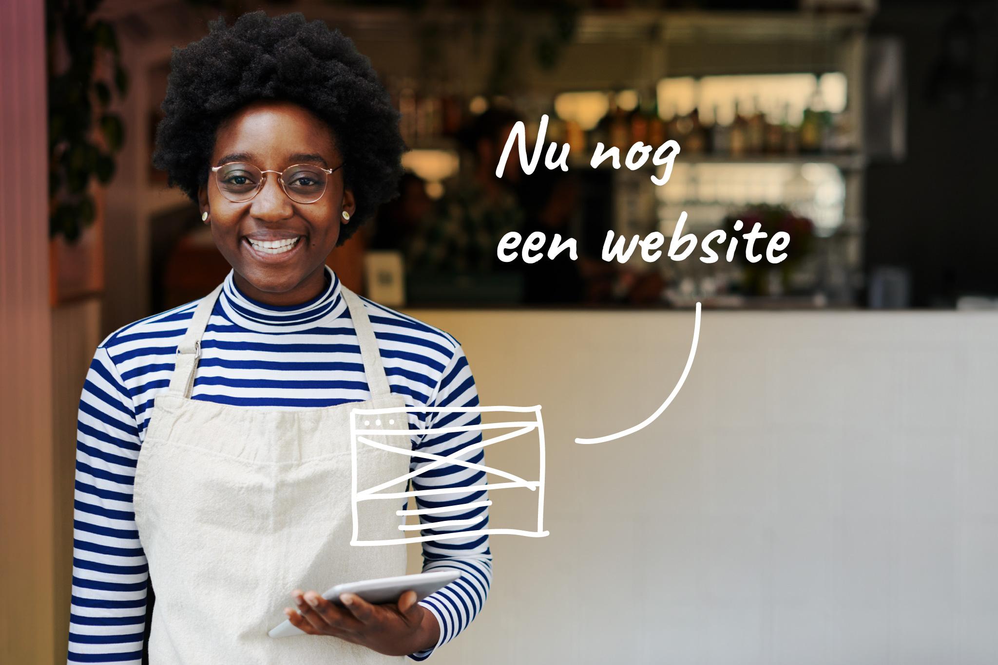 nu nog een website - online startersdag de kabelfabriek